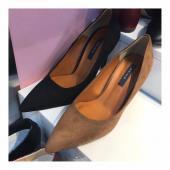 Q35-麂皮跟鞋(二色)(預購)