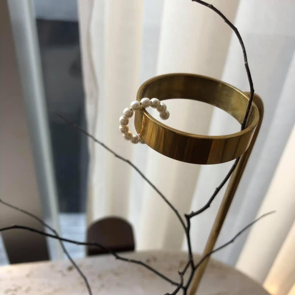D1259-珍珠耳骨耳環(預購)