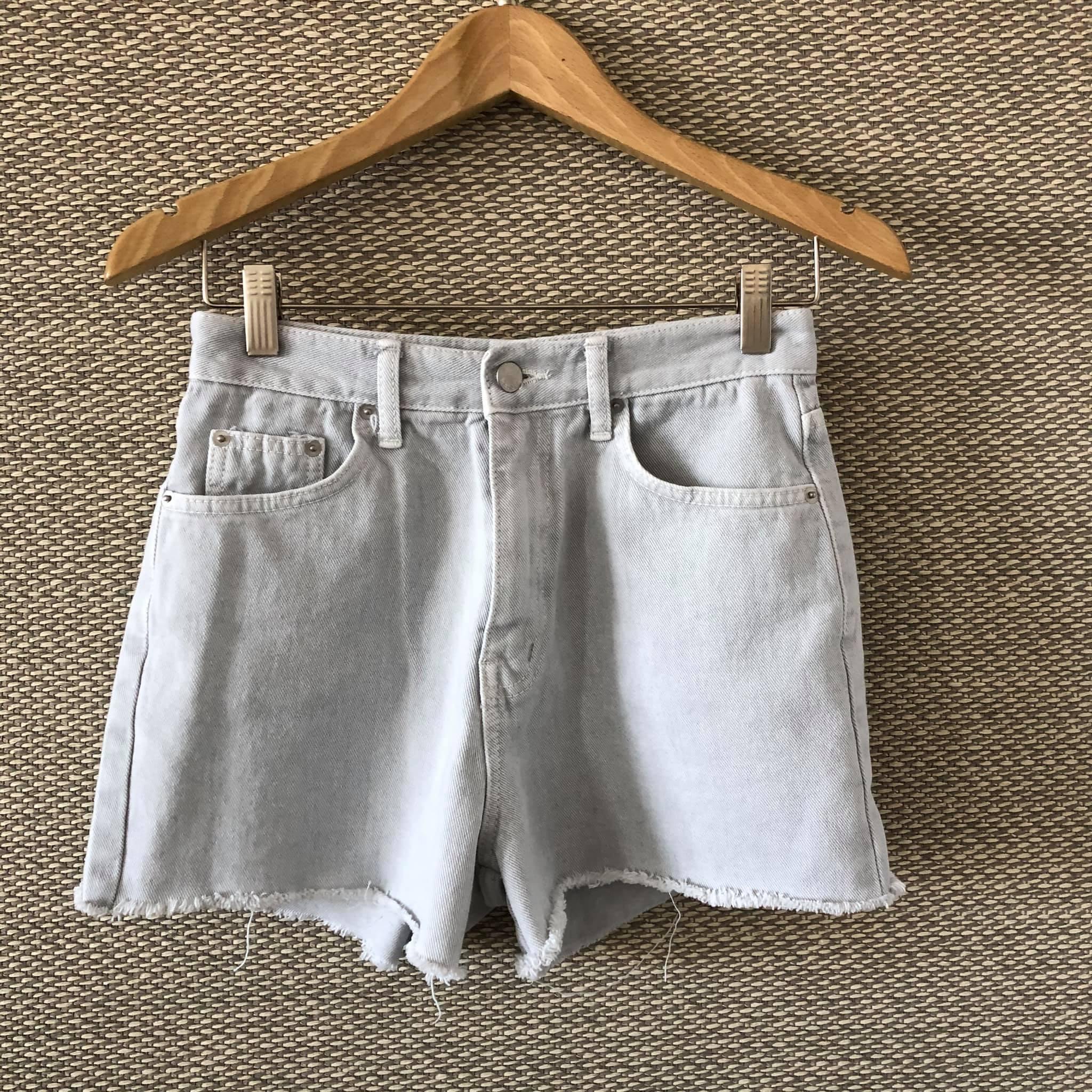 J200615-藍灰色丹寧短褲 (現貨)