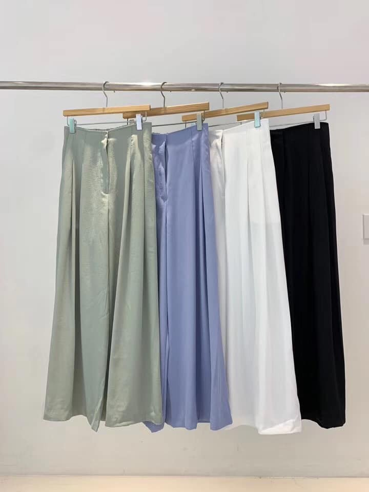J200717-雪紡高腰寬褲 (現貨)