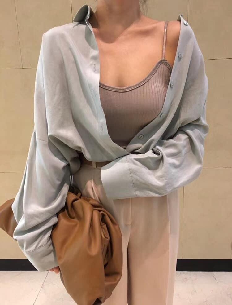 J200729-羅紋 Bra Top (現貨)