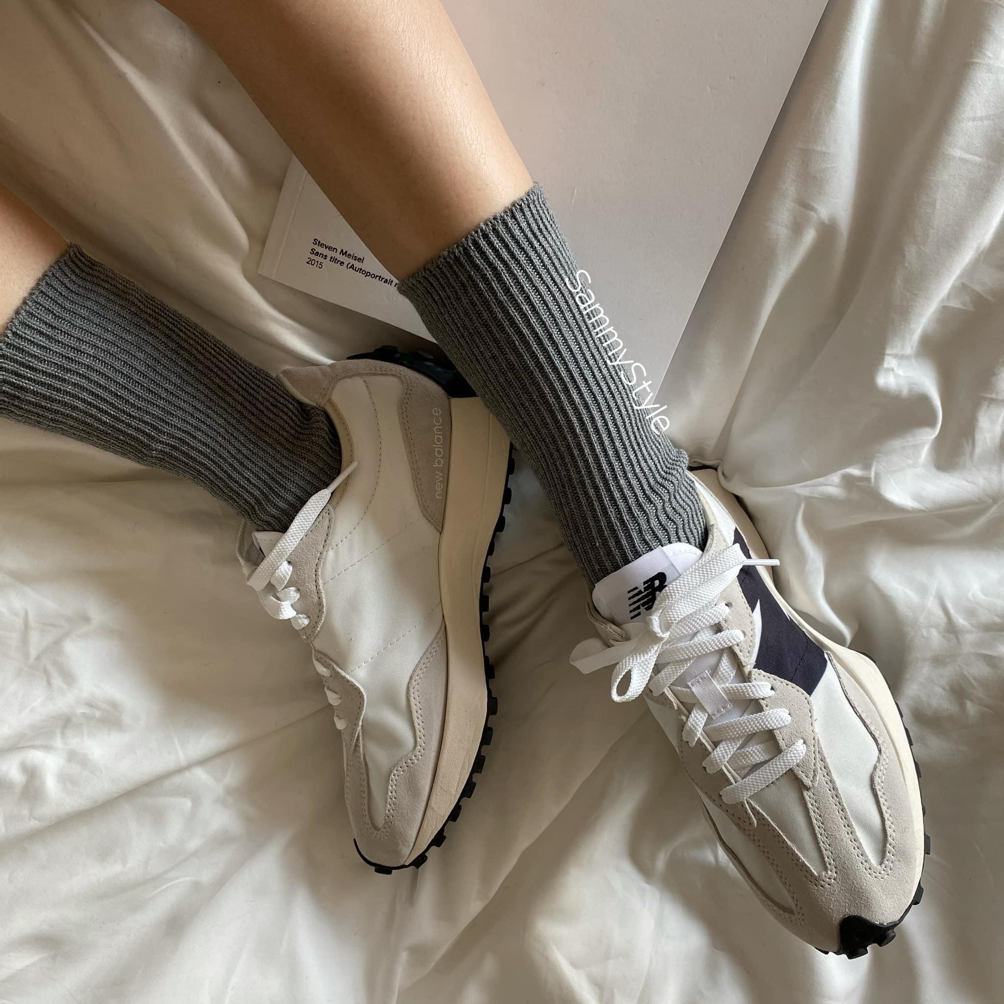 J210104-針織素色襪 (現貨)
