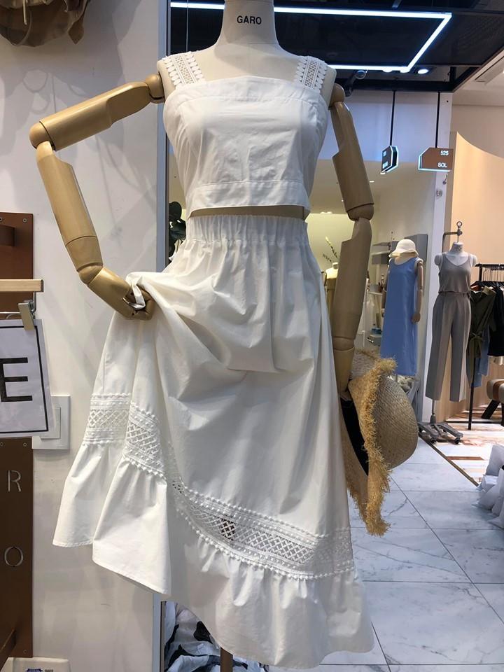 J9740-縷空渡假洋裝