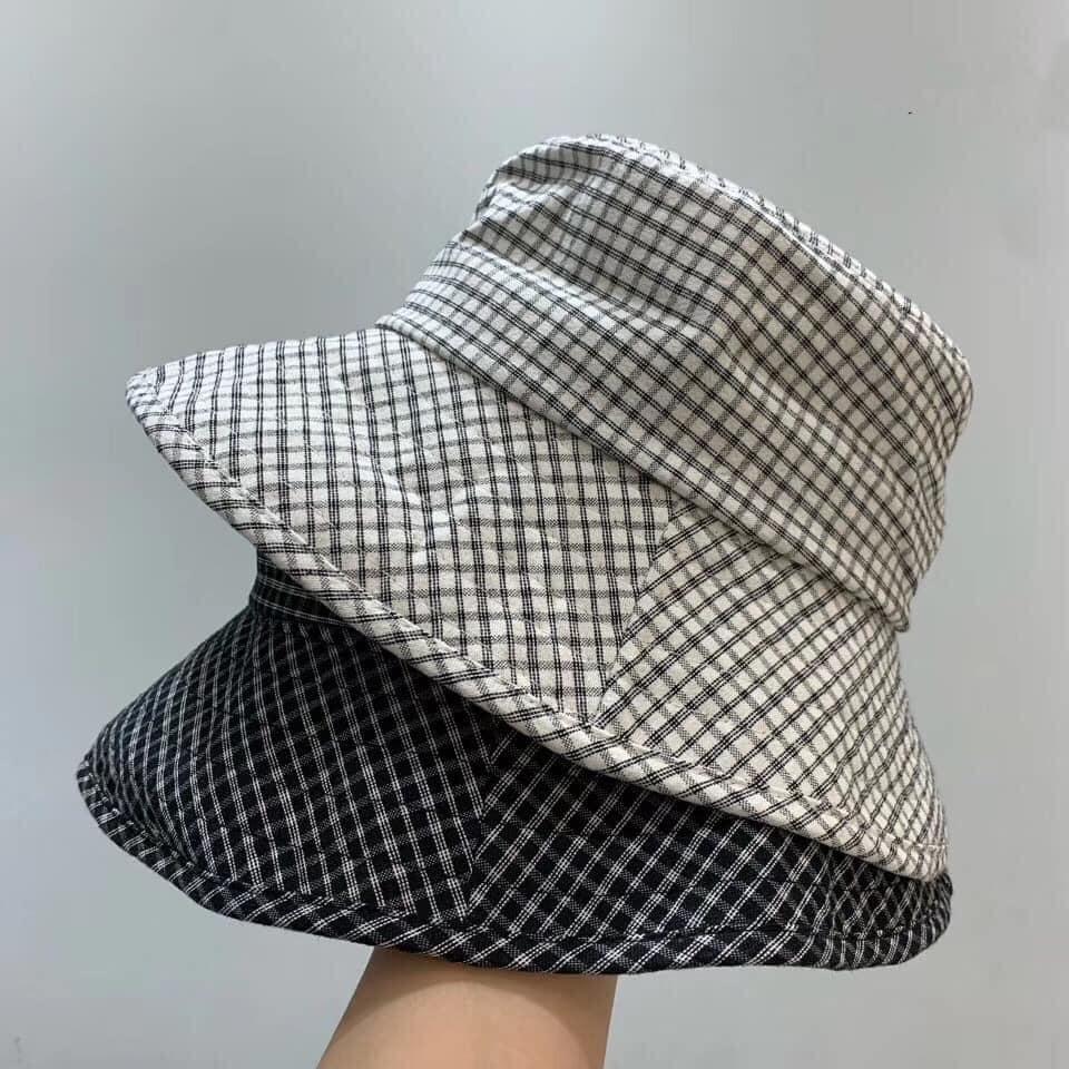 M200522-百搭格紋漁夫帽 (現貨)