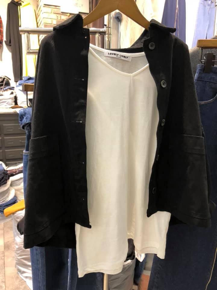N1108-法蘭絨短版外套(現貨)