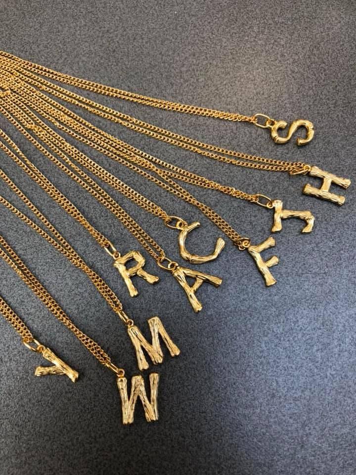 N1139-字母項鍊(現貨)
