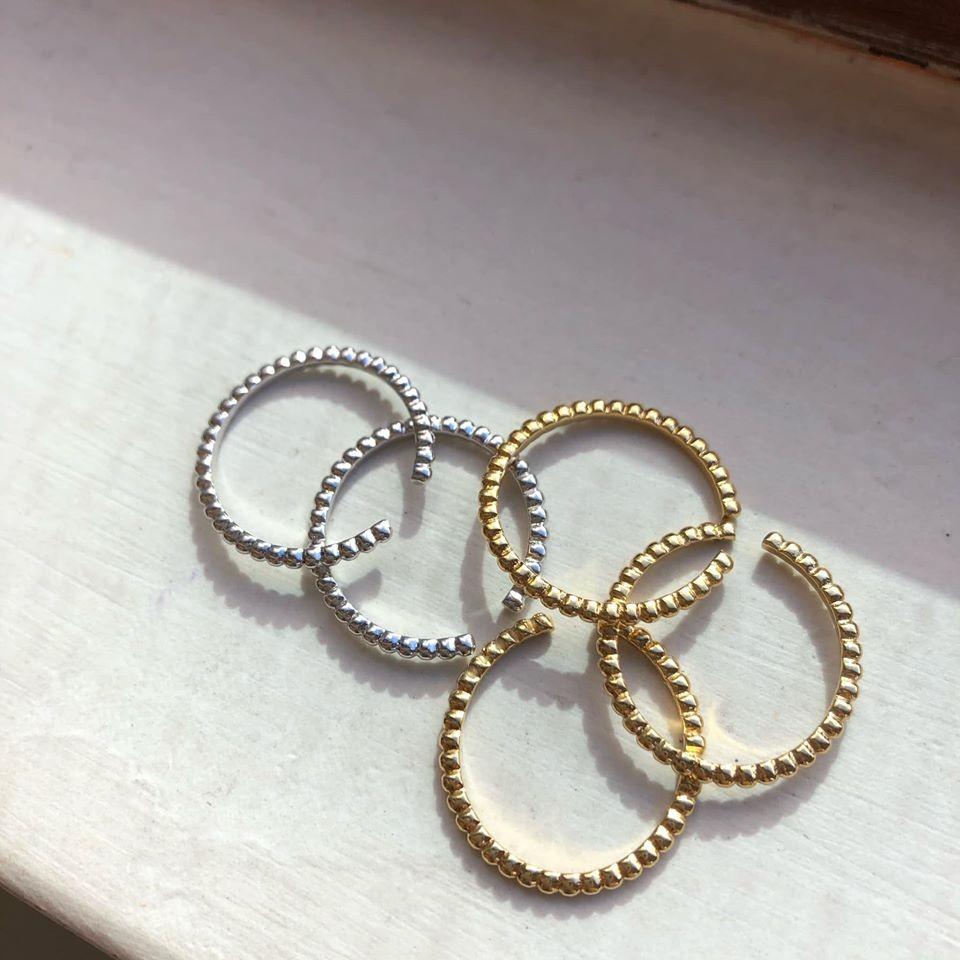 N91109-925羅紋細緻開口戒指 (單個)(預購)