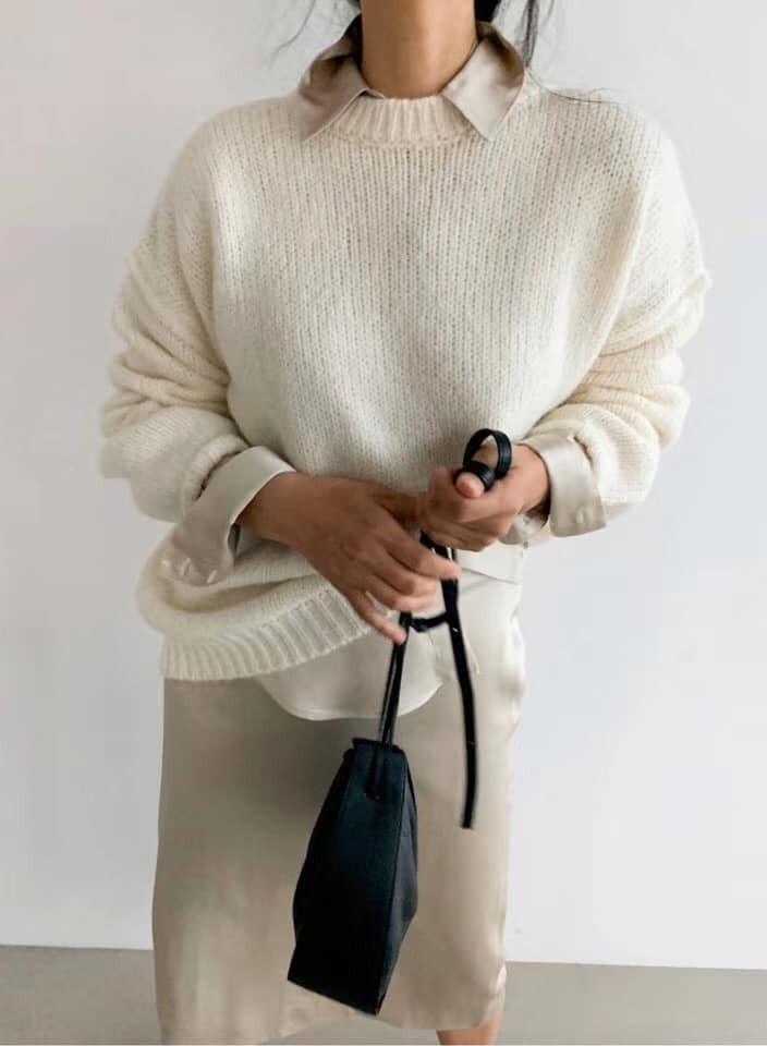 N91136-羊駝寬鬆上衣 (預購)