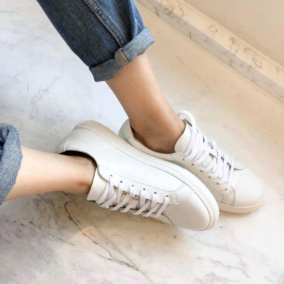 O1043-牛皮小白鞋 (預購)