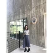 S0921-印花小百褶裙(預購)