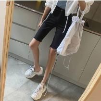 A210409-五分彈性丹寧褲 (現貨)