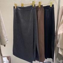 D201229-開衩中直裙 (預購)