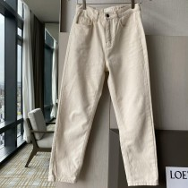 D201230-白色直筒褲-S (現貨)