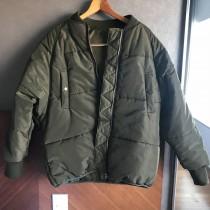 FF44-軍綠鋪棉外套(現貨)
