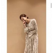 J200119-大理石紋洋裝(現貨)