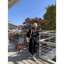 J210135-牛角扣羊毛大衣 (現貨)