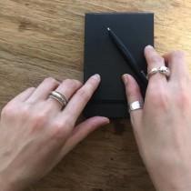 M200505-925羅紋細緻開口戒指(現貨)