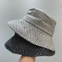 M200522-百搭格紋漁夫帽 (預購)