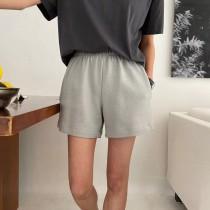 M210506-鬆緊棉質短褲 (現貨)