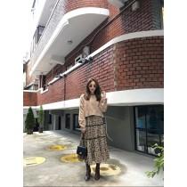 N91131-碎花長圓裙 (預購)