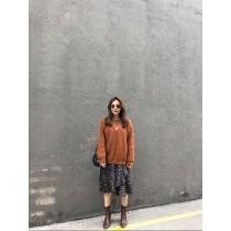 **N91143-碎花腰鬆緊洋裝 (現貨)