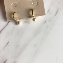 O1045-戒指珍珠耳環(現貨)