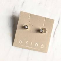 O1052-細緻鑲珍珠耳環(現貨)