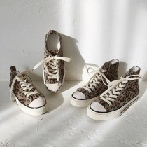 O1055-時尚豹紋休閒鞋(預購)
