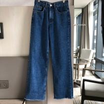 O201004-落地直筒丹寧寬褲 (現貨)