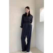 O201046-蜜桃絲質連身褲 (現貨)
