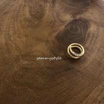 O91011-夾式圈圈耳環 (單個) (預購)