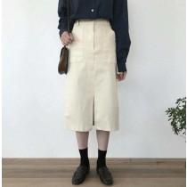 S0925-白色直裙 (預購)